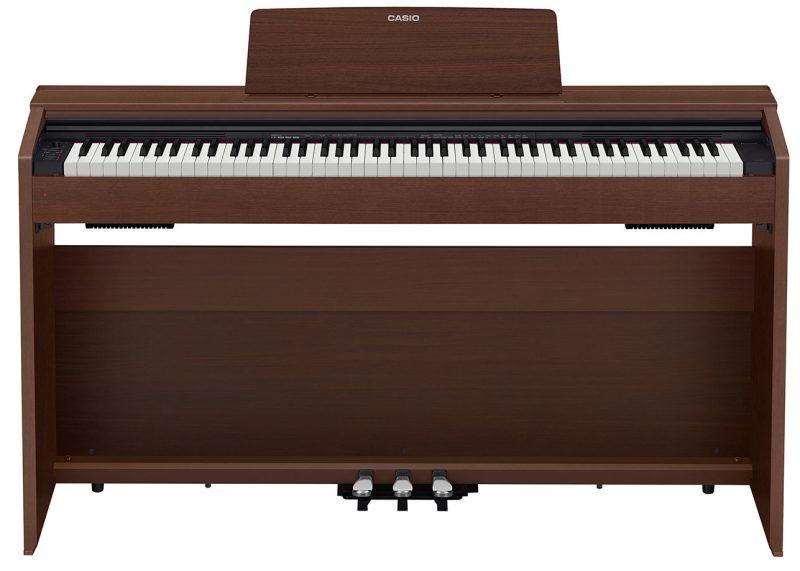 Цифровое фортепиано CASIO PX-870 BN (коричневый)