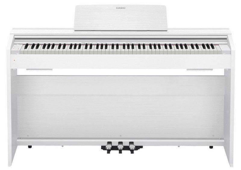 Цифровое фортепиано CASIO PX-870 WE (белый)