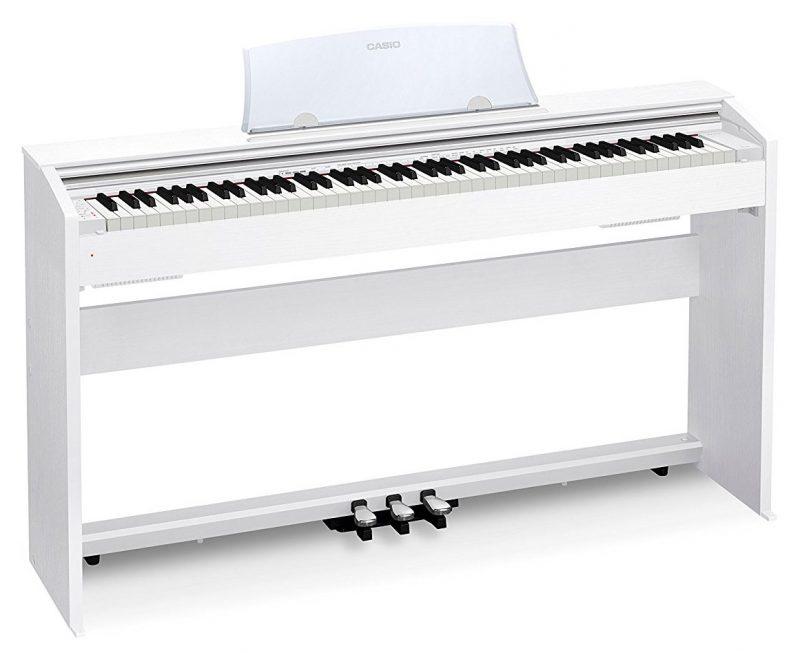 Цифровое фортепиано CASIO PX-770 WE (белый)