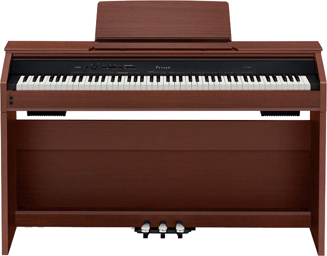 Цифровое фортепиано CASIO AP-460 BN (коричневый)