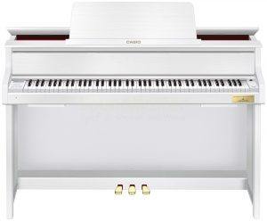Гибридное фортепиано CASIO GP-300 WE (белое)