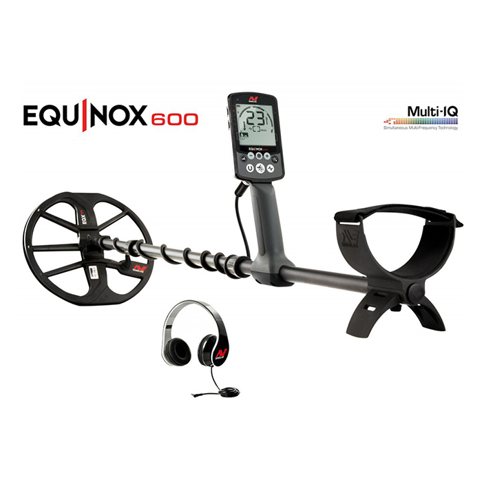 Металлоискатель Minelab EQUINOX 600 + Пинпоитер Minelab PRO-FIND 20