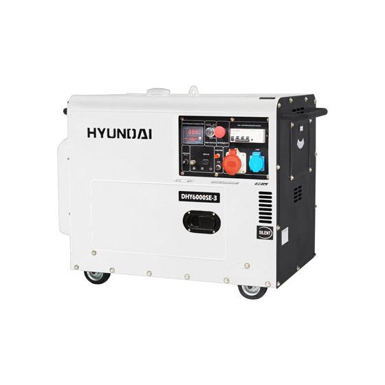 Генератор дизельный HYUNDAI DHY 6000 SE-3