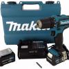Аккумуляторная ударная дрель-шуруповёрт Makita HP331DWME 6586