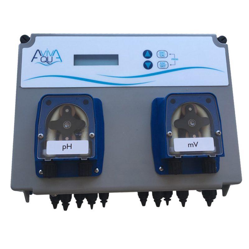 Система перистальтических доз.насосов AquaViva PH+RX 1,5л/ч + Измерительный набор, 2шт