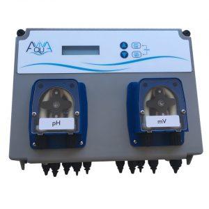 Система перистальтических доз.насосов AquaViva PH/RX+Free Cl 1,5л/ч+Ячейка PH/RX+Free Cl