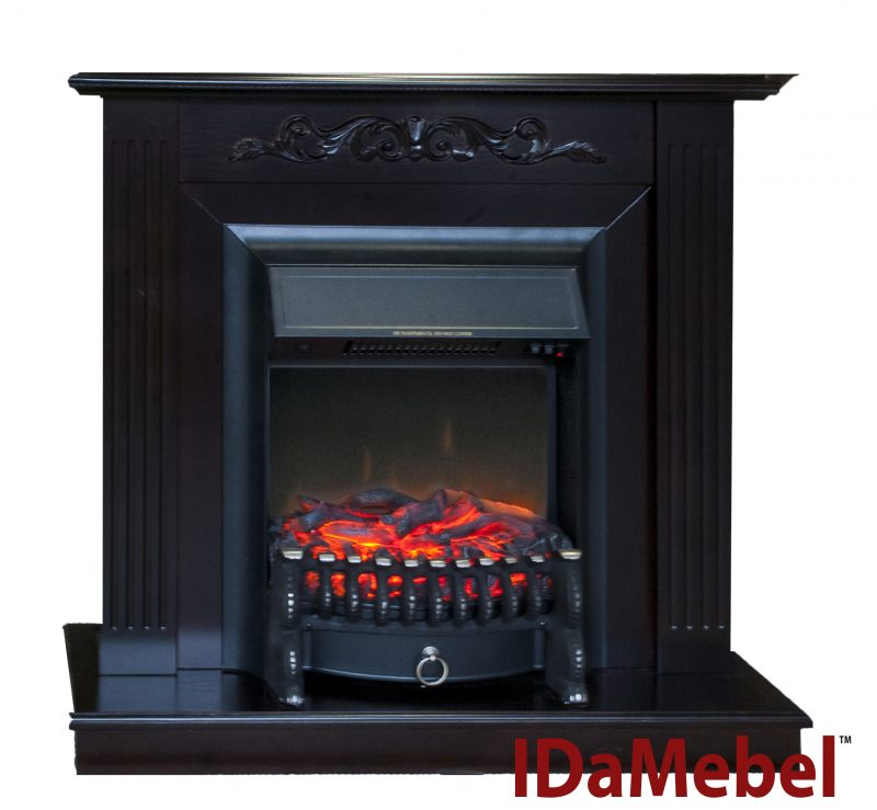 Каминокомплект Royal Flame Fobos FX Black + IdaMebel Elaine
