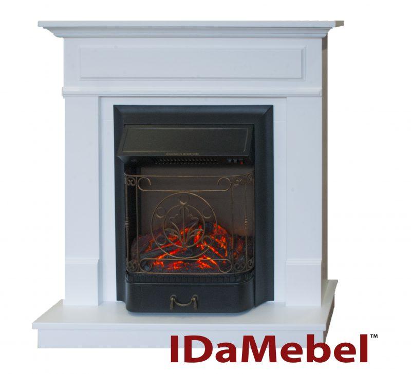 Каминокомплект Royal Flame Majestic FX Black + IdaMebel Michelle