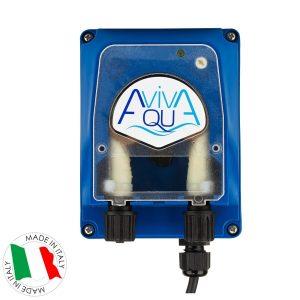 Перистальтический дозирующий насос AquaViva универсальный 1,5-4 л/ч (PPR) с регулир.скор.
