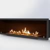 Встраиваемый очаг для биокамина Gloss Fire Focus MS 001 10071
