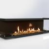 Встраиваемый очаг для биокамина Gloss Fire Focus MS 004