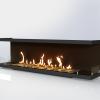 Встраиваемый очаг для биокамина Gloss Fire Focus MS 004 10099