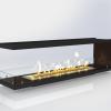 Встраиваемый очаг для биокамина Gloss Fire Focus MS 002 10080