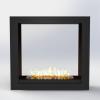 Встраиваемый очаг для биокамина Gloss Fire Focus MS 011 10147