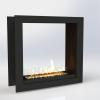 Встраиваемый очаг для биокамина Gloss Fire Focus MS 011
