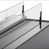 Дизайнерский биокамин Gloss Fire Slider color glass 1000 9932