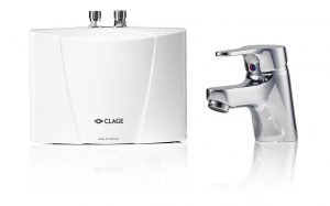 Проточный водонагреватель Clage M3/END