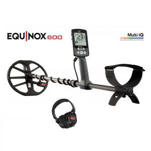Металлоискатель Minelab EQUINOX 600 + беспроводные наушники Minelab EQX