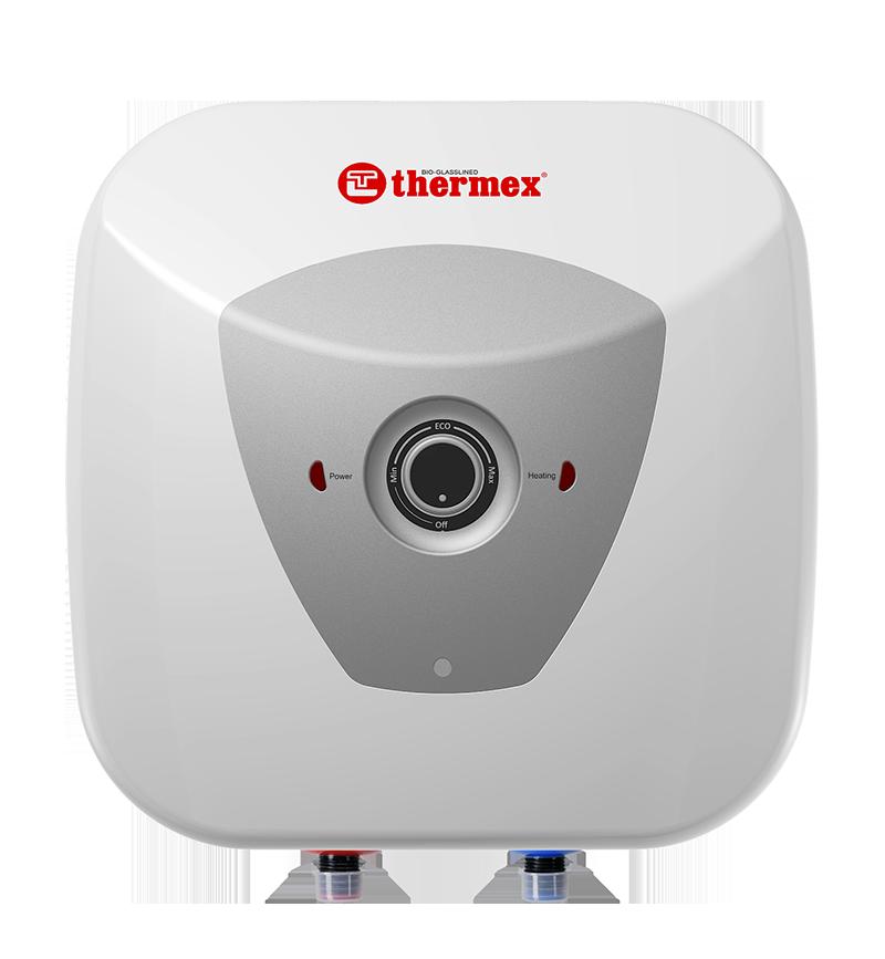 Накопительный водонагреватель Thermex H 10 O (pro) над мойкой