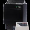 Электрокаменка для бани и сауны EcoFlame AMC 90 D + пульт CON4