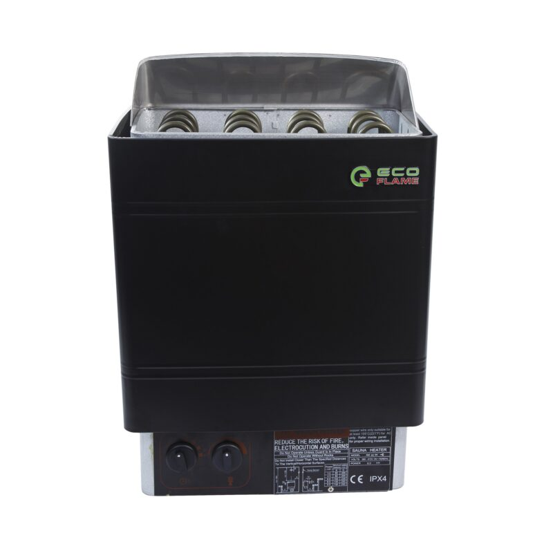 Электрокаменка для бани и сауны EcoFlame AMC 90 STJ