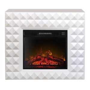Каминокомплект ArtiFlame DIAMOND AF23 белый бьянко