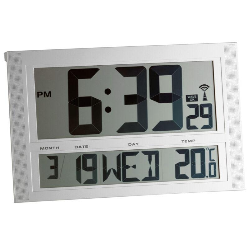 Часы настенные цифровые TFA 981090